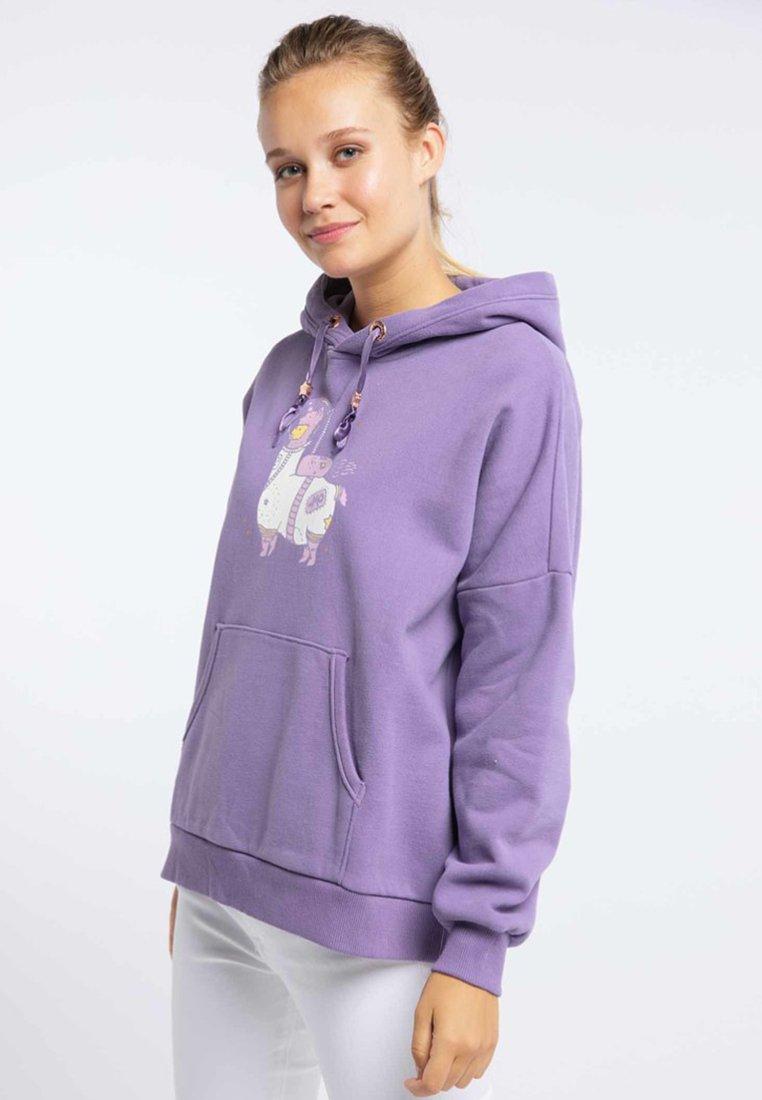 myMo Kapuzenpullover - purple   Damenbekleidung billig
