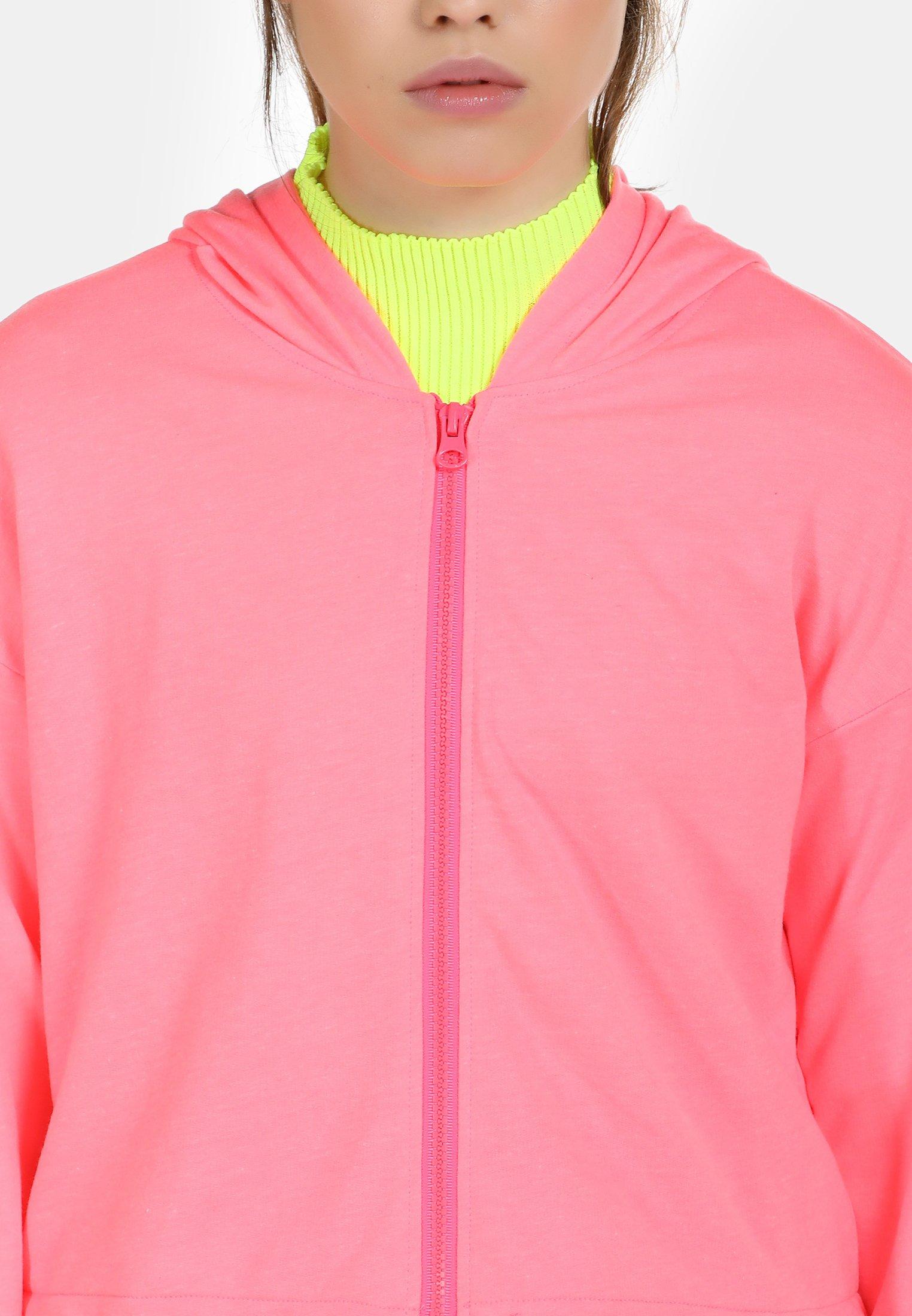 myMo Bluza rozpinana - neon pink