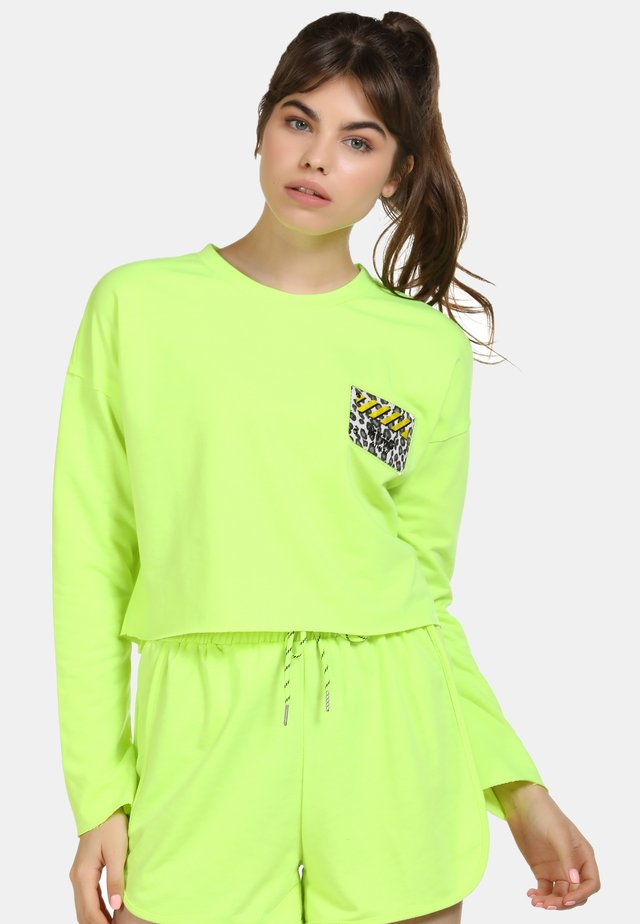 Bluza - neon green