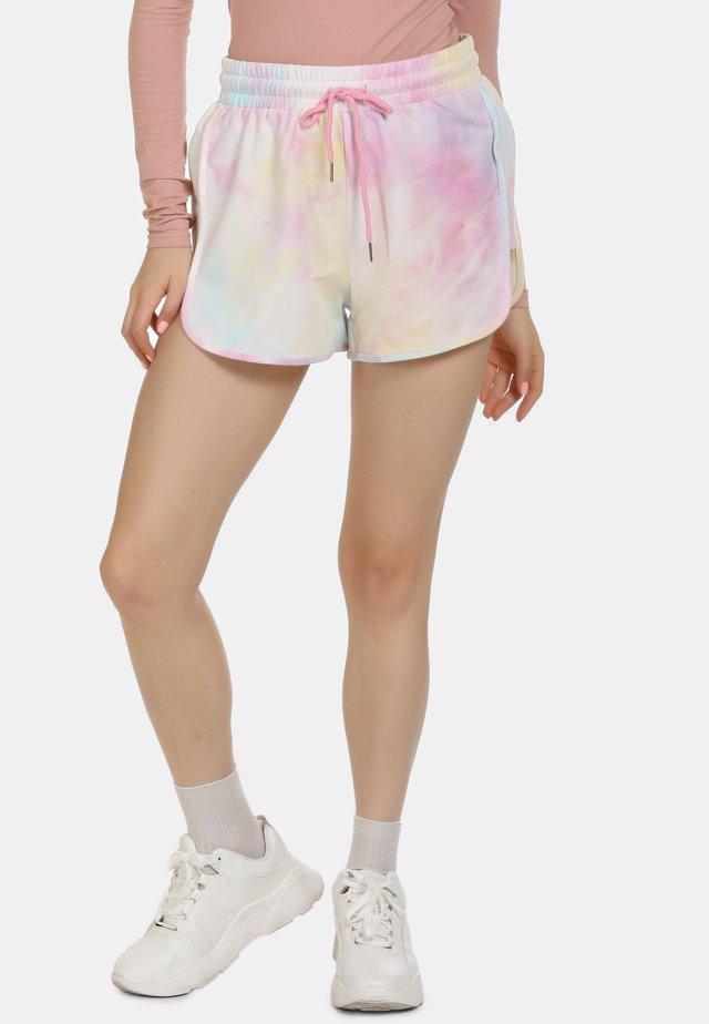 Shorts - pink/blue/yellow