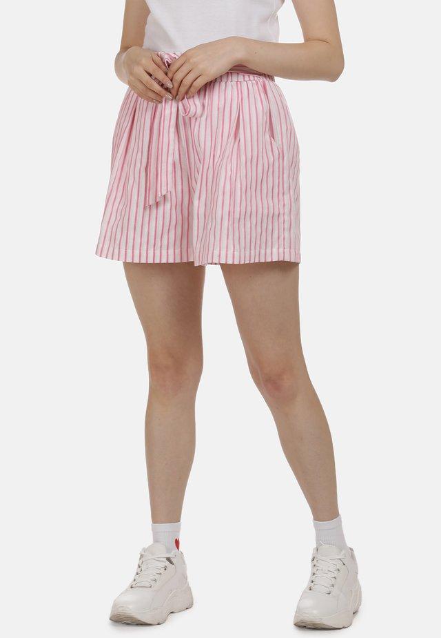 SHORTS - Szorty - pink weiss
