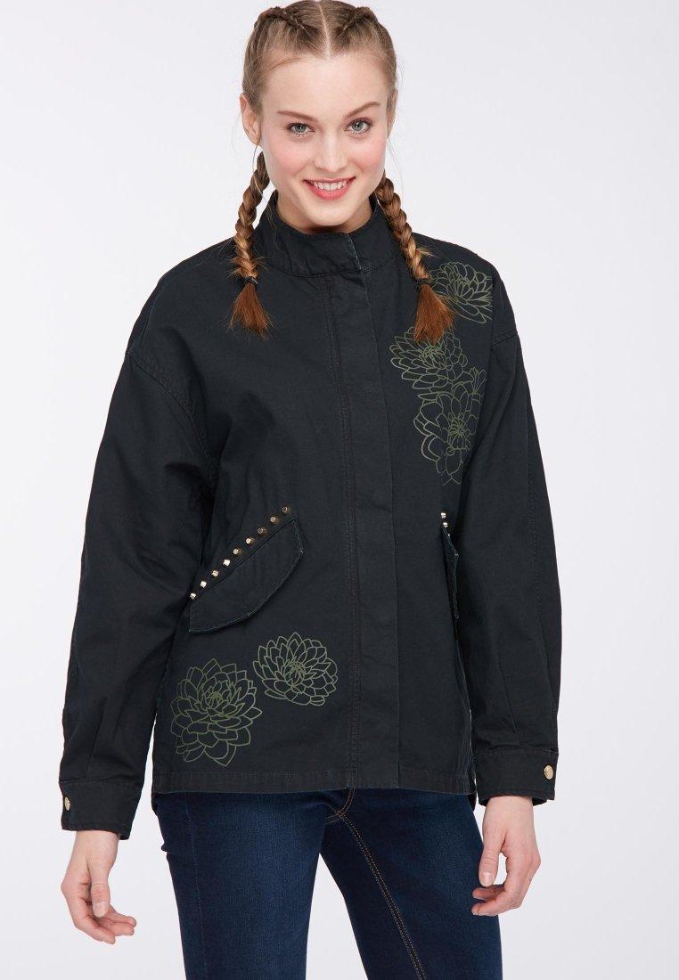 myMo - Leichte Jacke - black