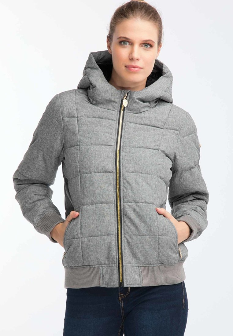 myMo - Winterjacke - mottled light grey