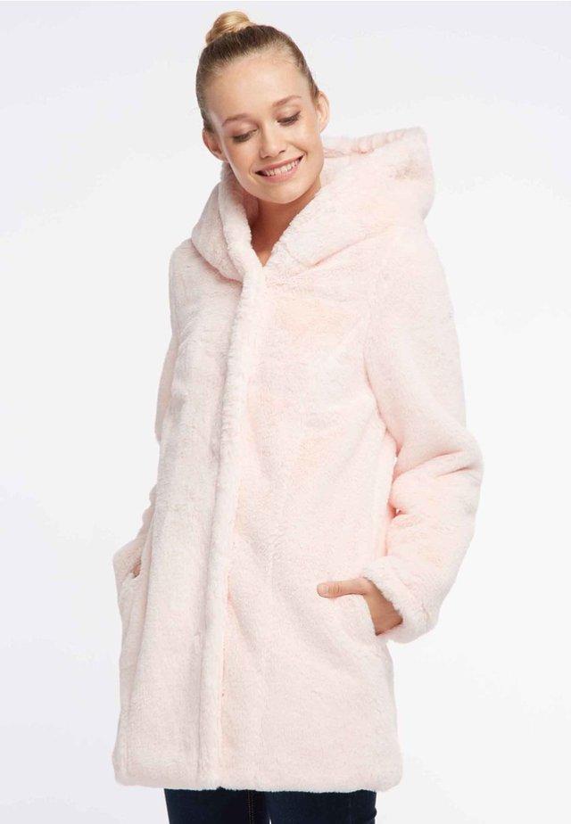 Płaszcz zimowy - rose