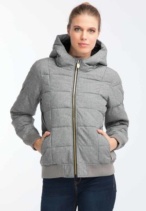 Chaqueta de invierno - mottled light grey