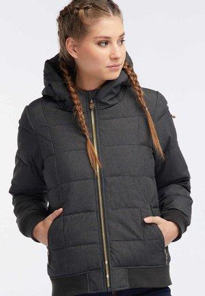 Winter jacket - black melange