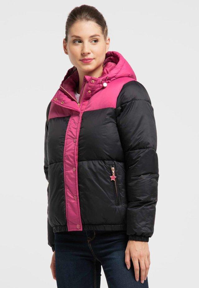 Kurtka zimowa - pink/black