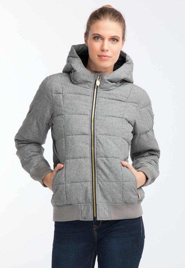 Kurtka zimowa - light grey