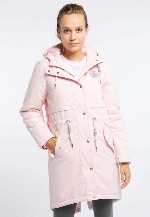 Płaszcz zimowy - light pink