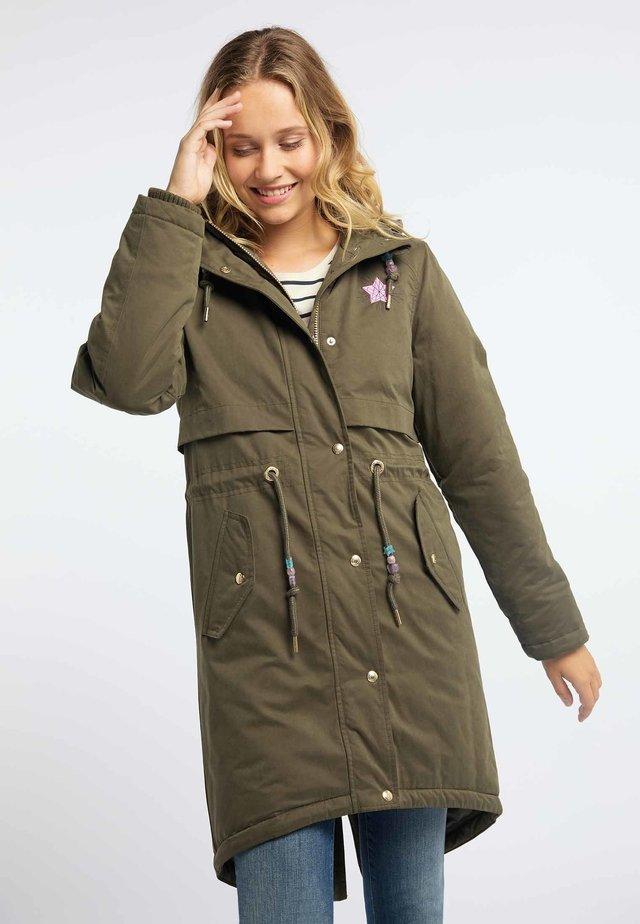 Płaszcz zimowy - olive