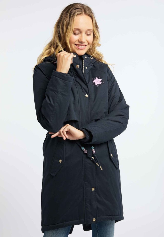 Płaszcz zimowy - marine