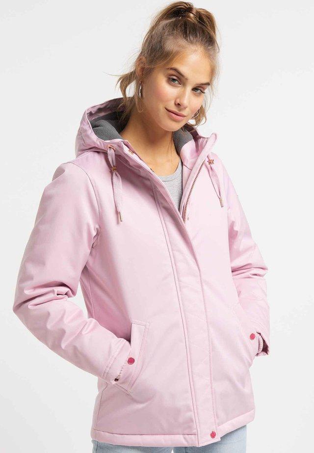 Outdoorjas - light pink