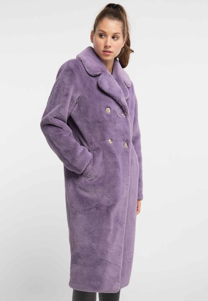myMo - MANTEL - Winter coat - lila