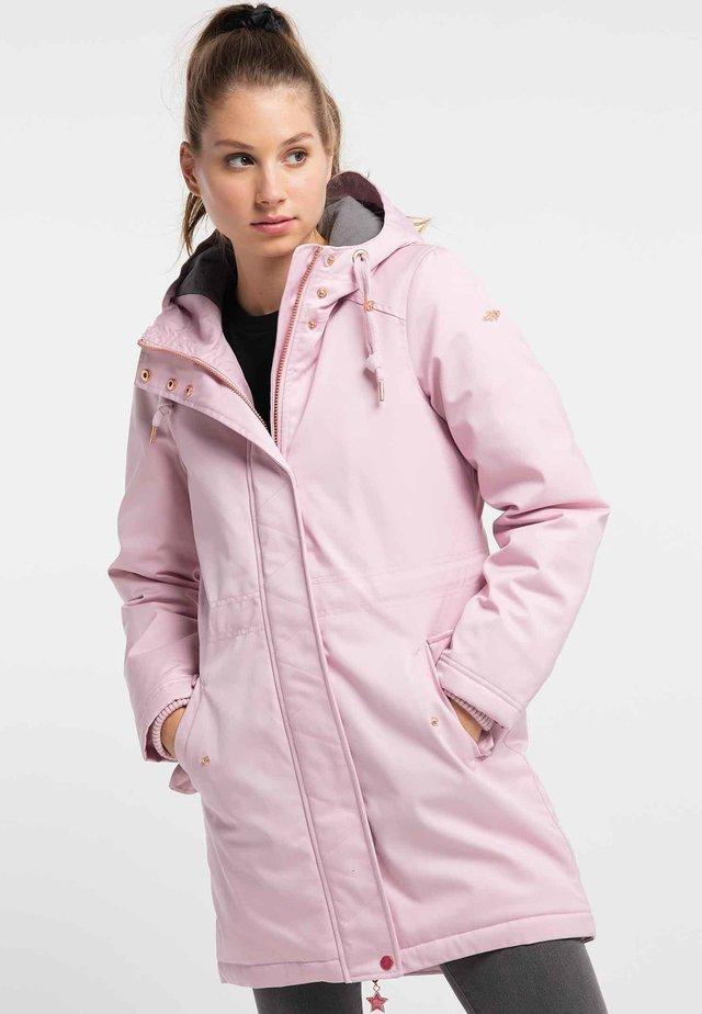 Płaszcz zimowy - powder pink