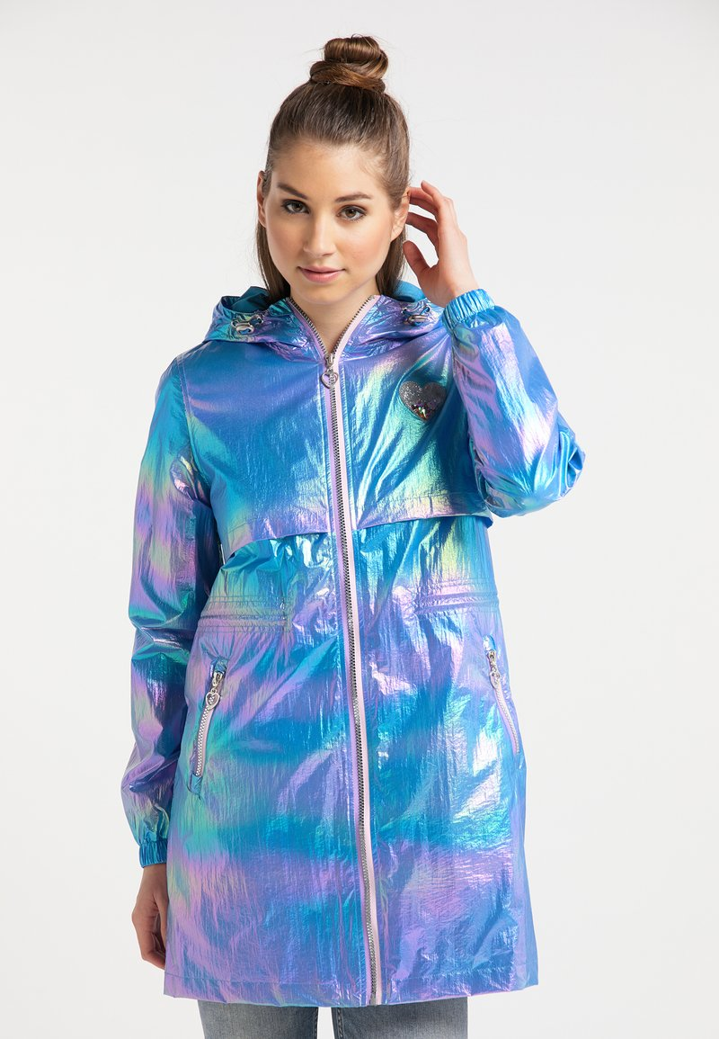 myMo - HOLOGRAPHIC - Parkas - blue holographic