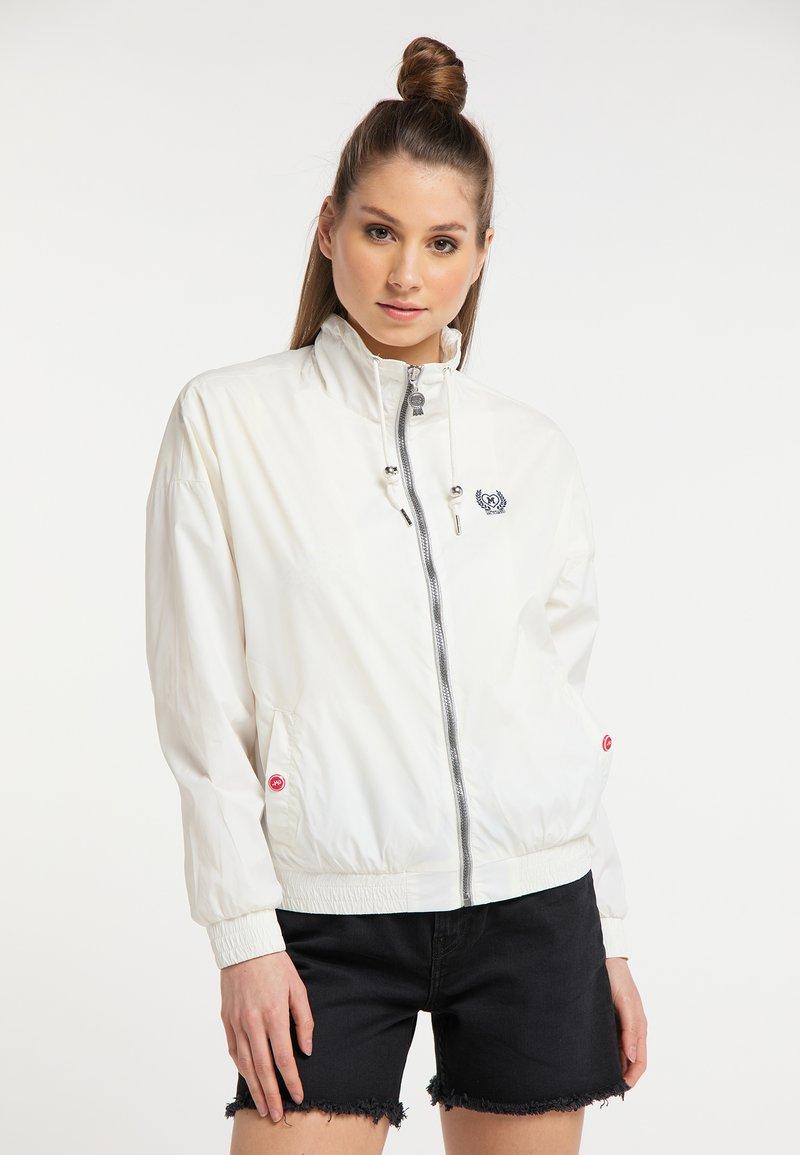 myMo - WINDBREAKER - Outdoor jacket - white