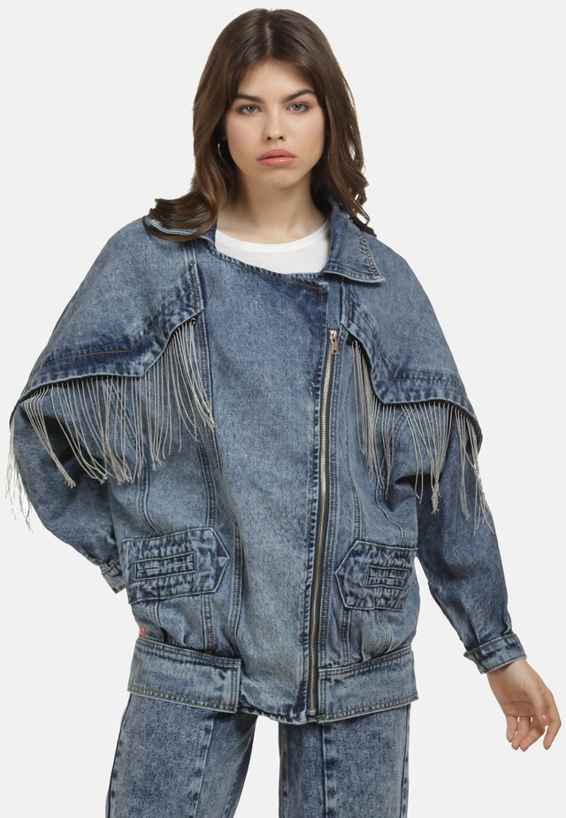 JEANSJACKE - Denim jacket - blau