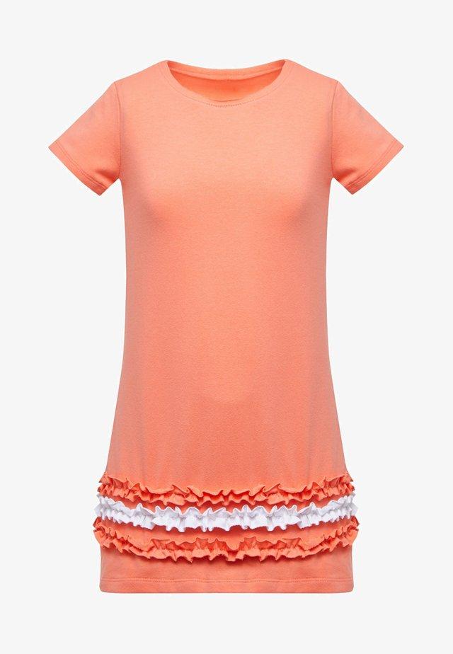 Robe d'été - coral