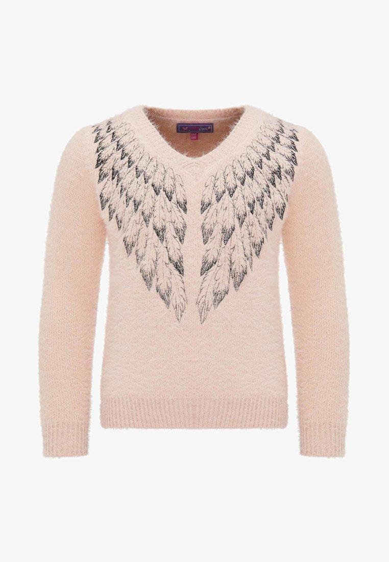 myMo - Stickad tröja - pink