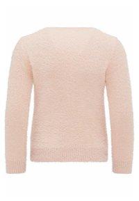myMo - Stickad tröja - pink - 1