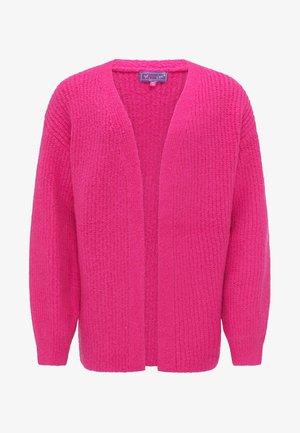 Chaqueta de punto - neon pink