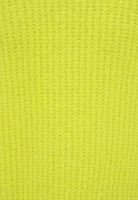 myMo - Neuletakki - neon green - 2