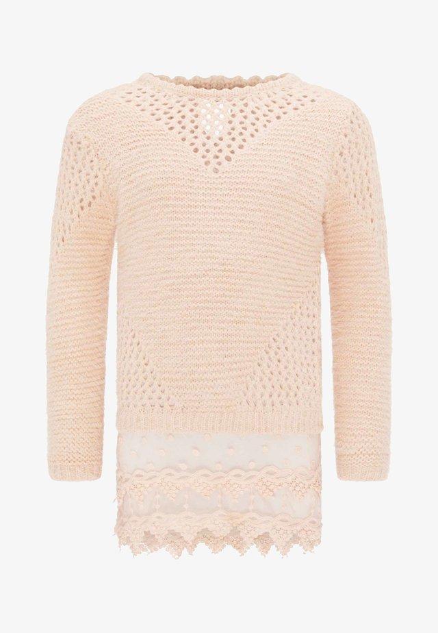 Pullover - light pink