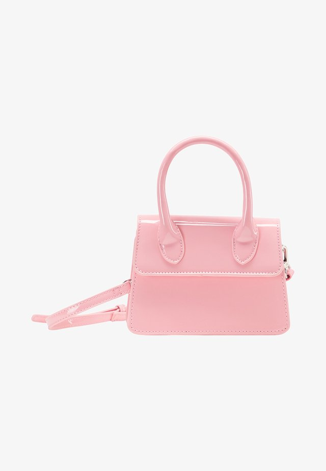 Taška spříčným popruhem - light pink