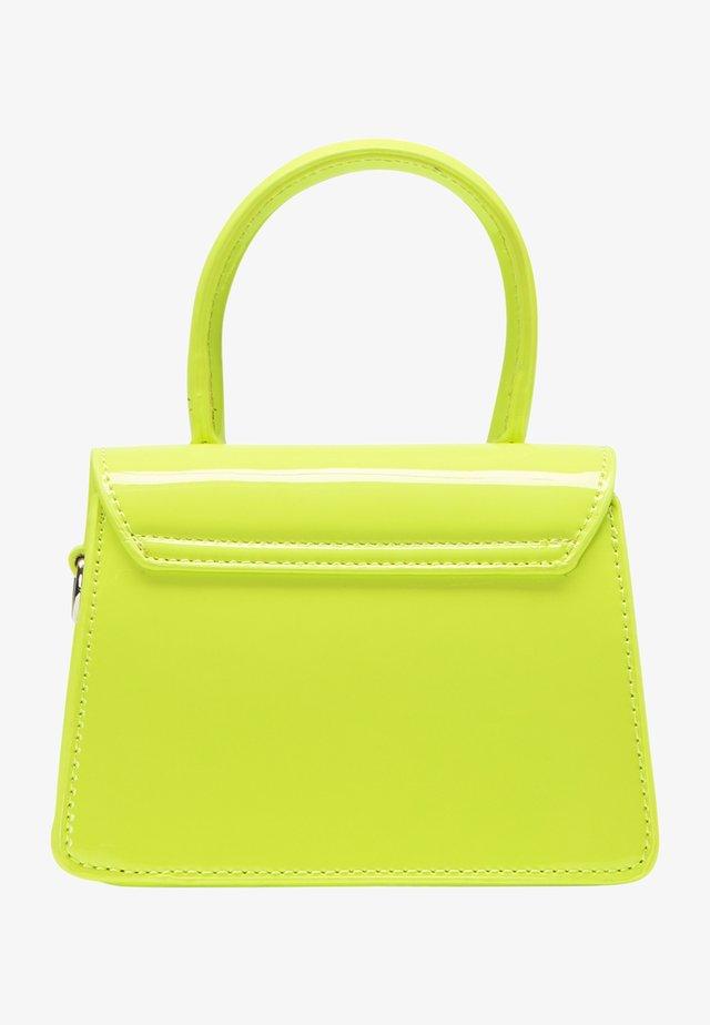 Taška spříčným popruhem - neon green