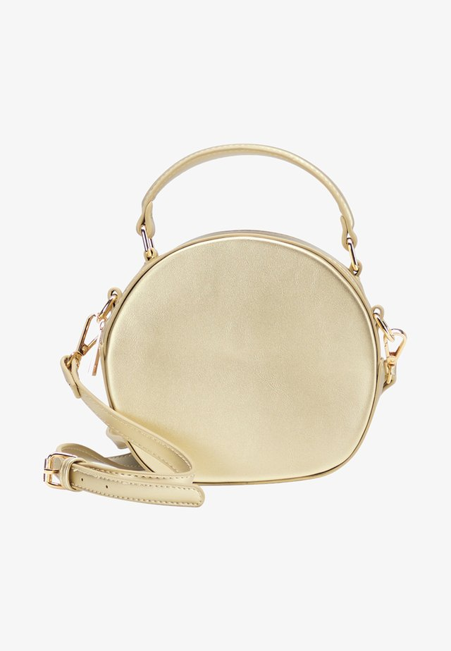 Handbag - gold metallic