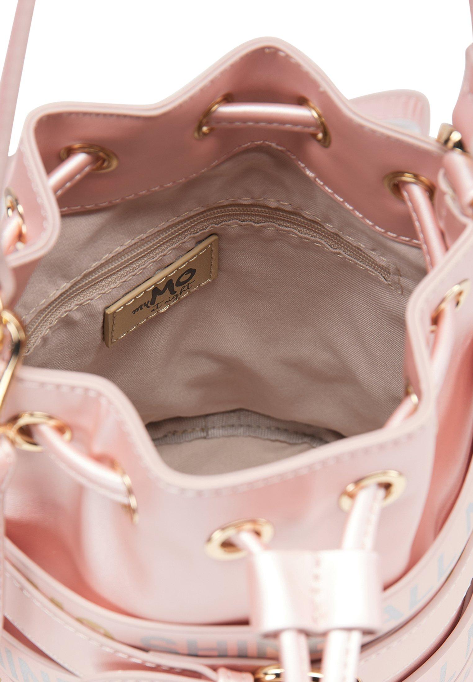 myMo Borsa a mano - rosa metallic