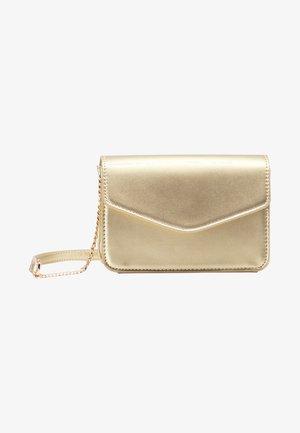 Across body bag - gold metallic