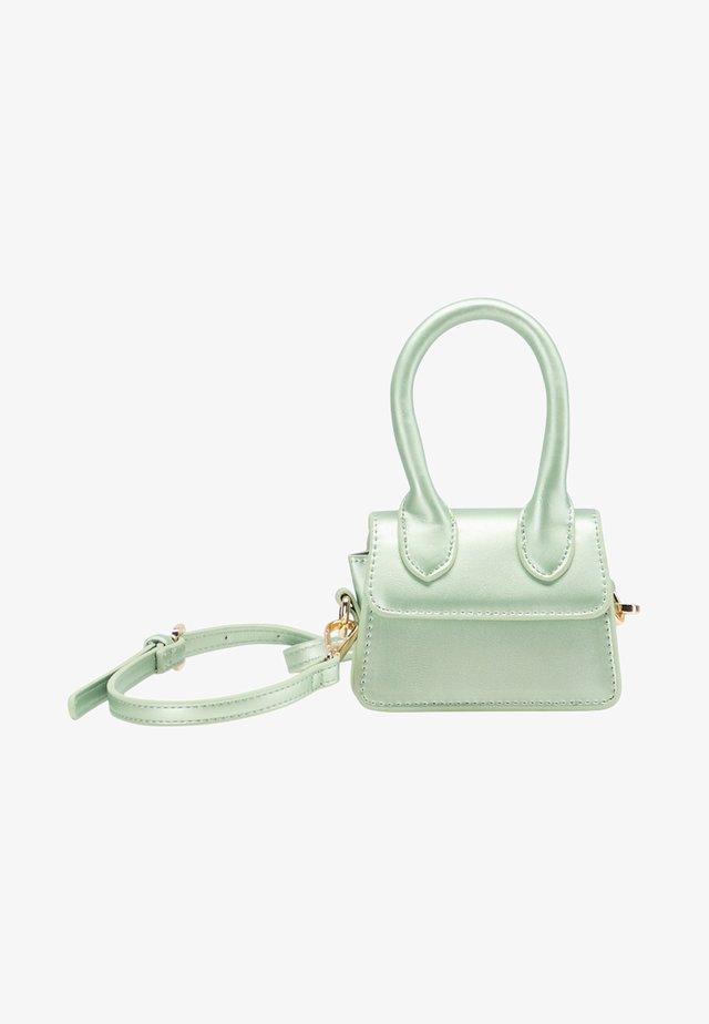 Across body bag - green metallic
