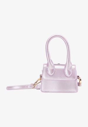 Taška spříčným popruhem - lilac metallic