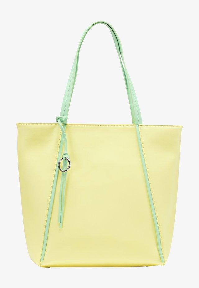 Velká kabelka - light yellow