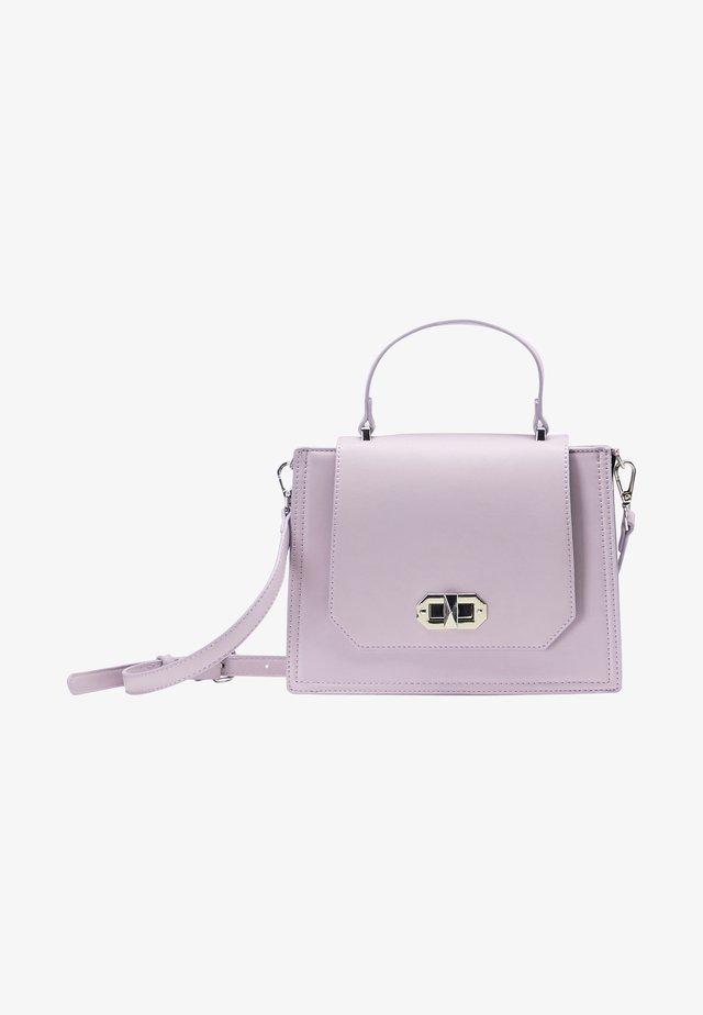 Taška spříčným popruhem - lilac