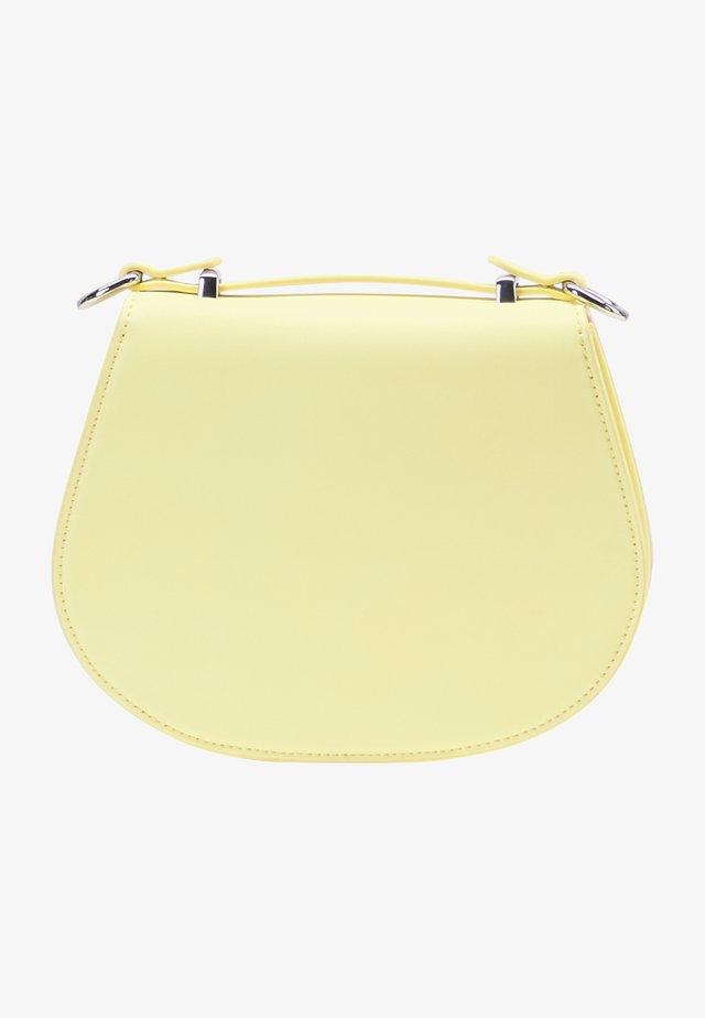 Taška spříčným popruhem - light yellow