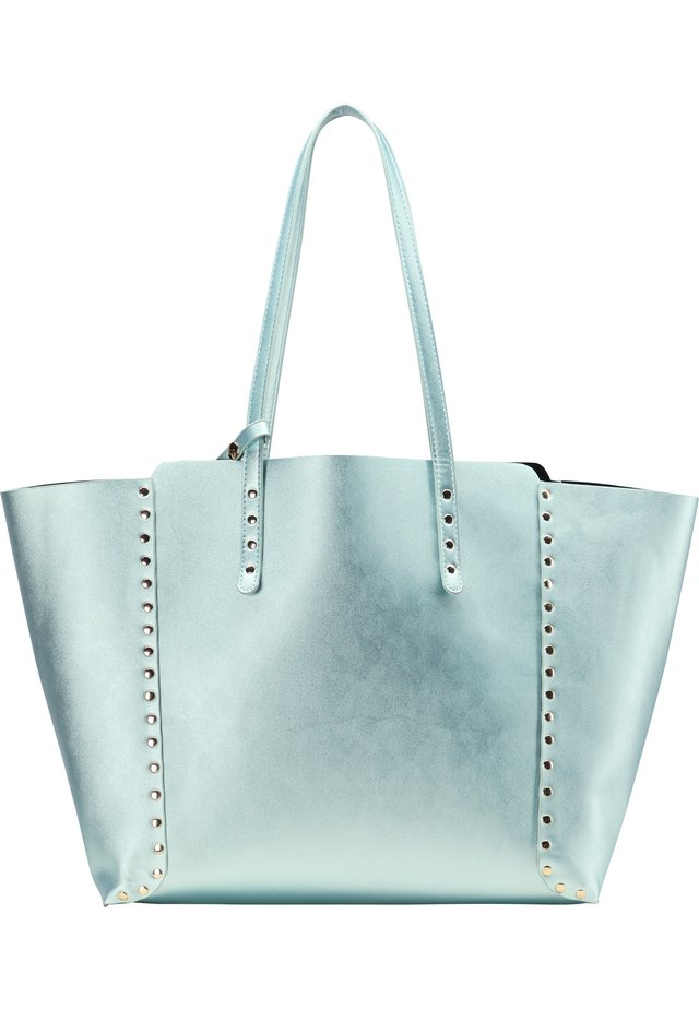 SHOPPER - Handbag - blau metallic