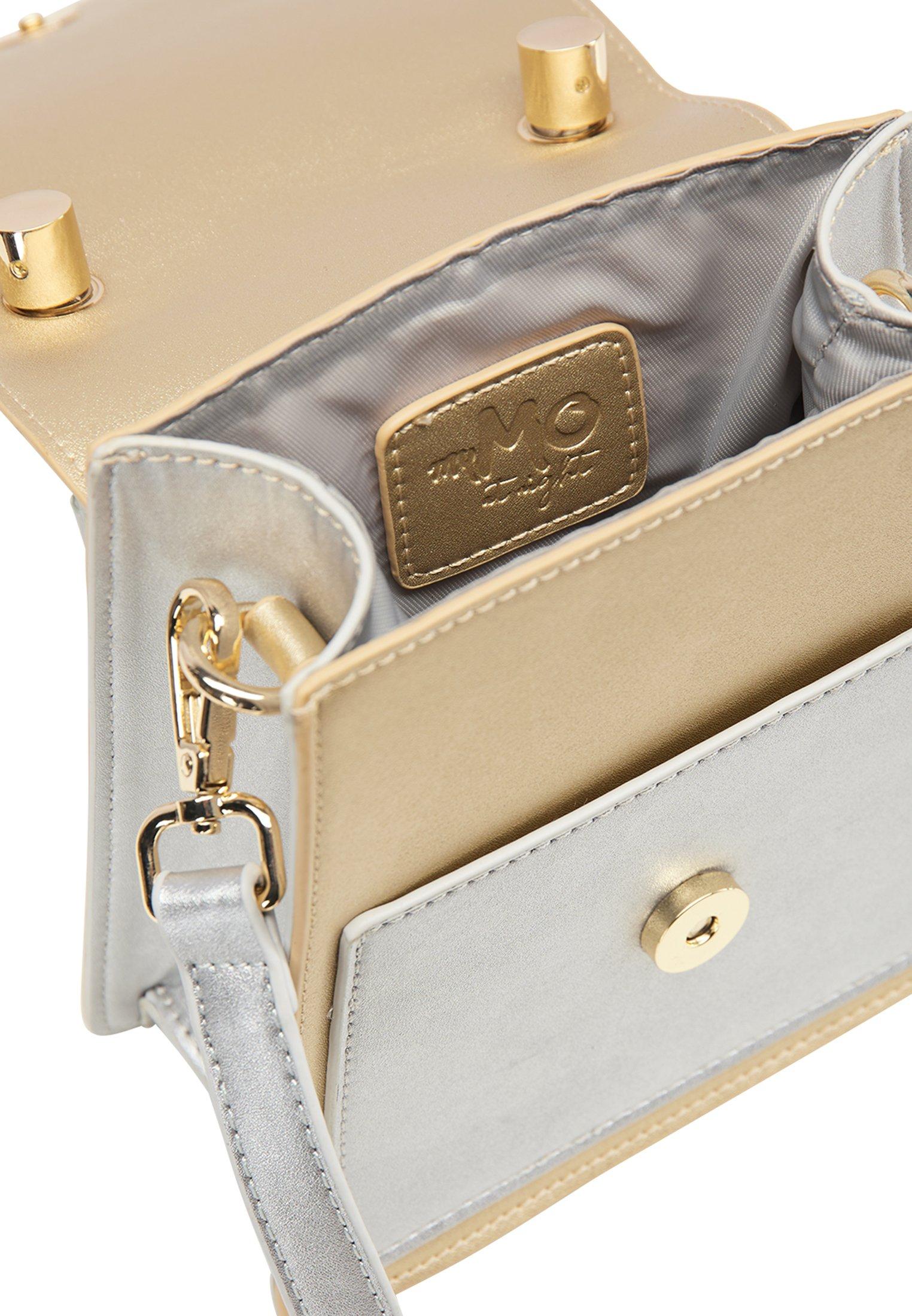 myMo Borsa a tracolla - gold metallic