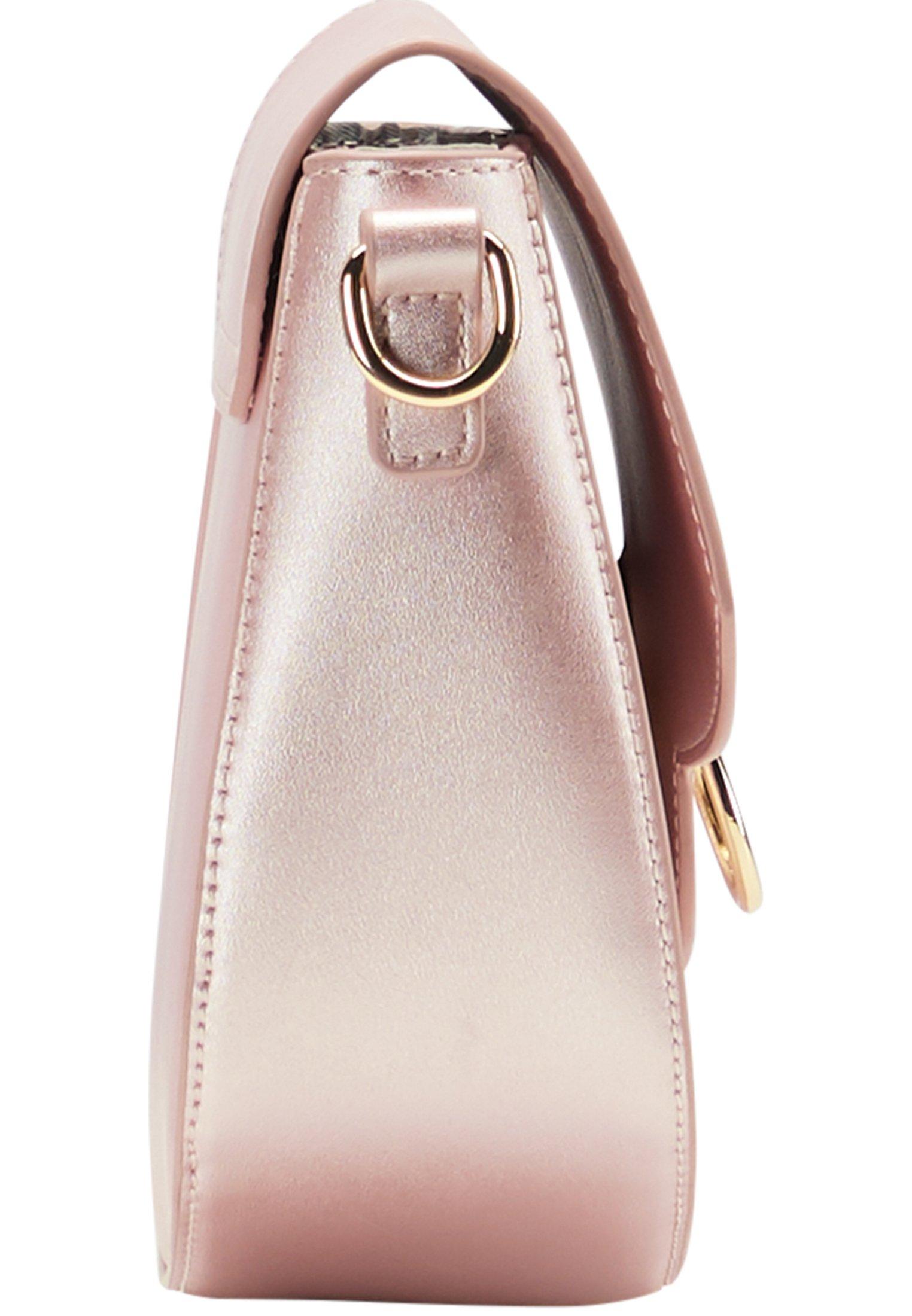 myMo Borsa a tracolla - pink metallic