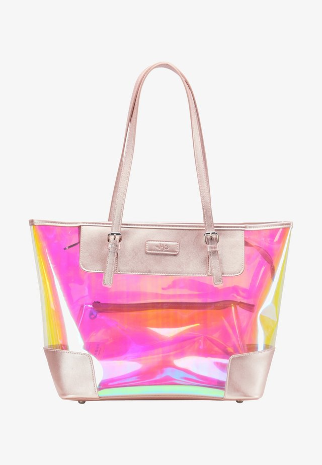 Shopping Bag - pink holo