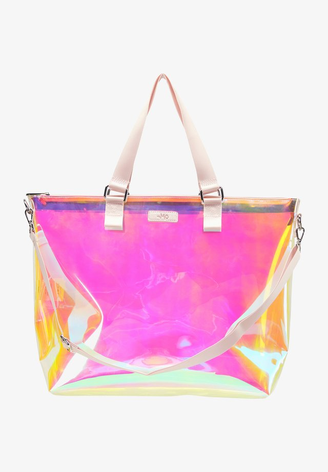 Shopping bags - pink holo