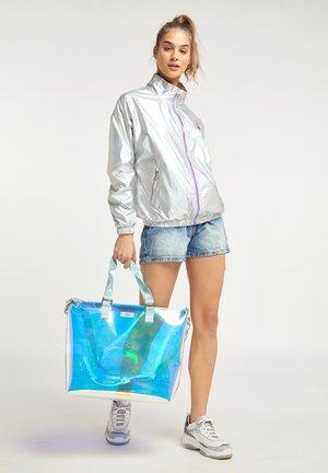 Tote bag - blue holo