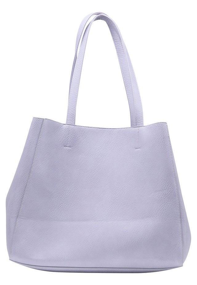 SHOPPER - Shopping bag - flieder
