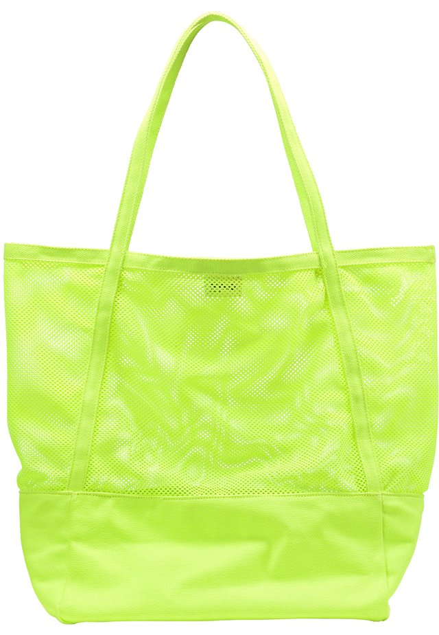 Shopping Bag - neon green