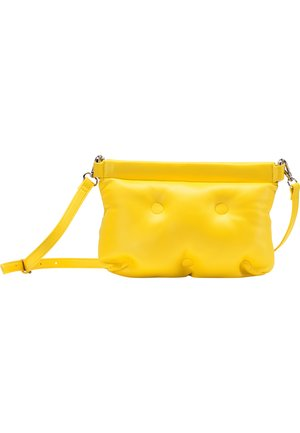 QUILTED BAG - Across body bag - yellow