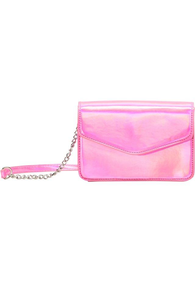 UMHÄNGETASCHE - Sac bandoulière - pink holo