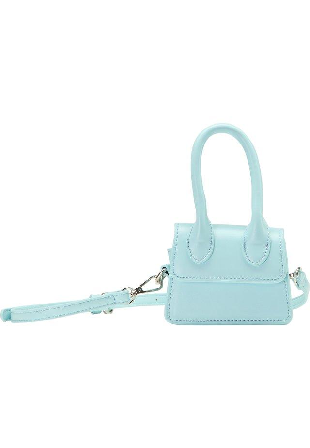 MINI-BAG - Taška spříčným popruhem - hellblau