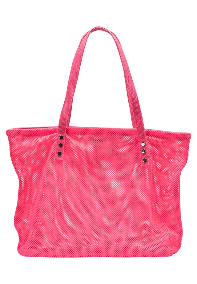 SHOPPER - Velká kabelka - neon pink