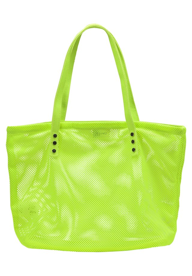 SHOPPER - Shopping Bag - neon green